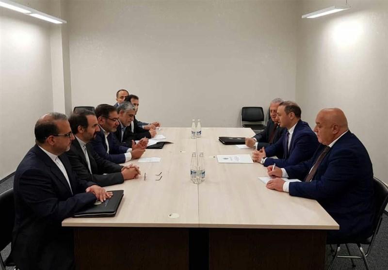 دریابان شمخانی با مشاور امنیت ملی ارمنستان دیدار کرد
