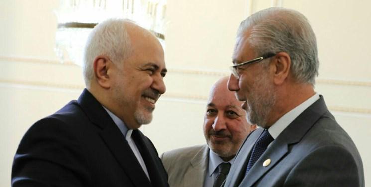 نایب رئیس مجلس عراق و هیأت همراه با ظریف دیدار کرد
