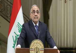 عادل عبدالمهدی: اجازه فعالیت هیچ کشوری علیه کشور دیگر را در عراق نمیدهیم