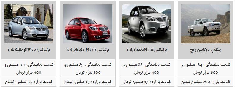 محصولات پارس خودرو چند قیمت است؟
