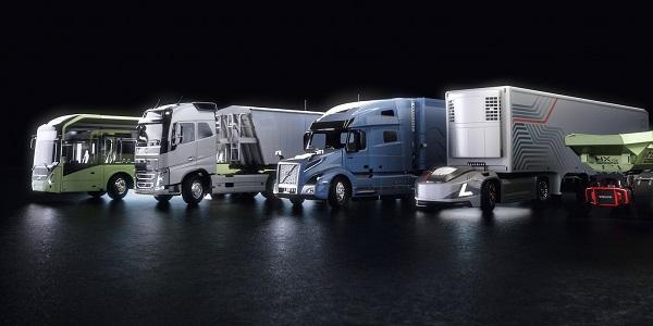 همکاری ولوو و انویدیا برای تولید اتوبوس و کامیونهای خودران