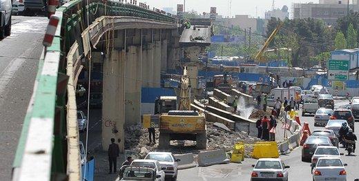اطلاعیه معاونت حمل و نقل و ترافیک درباره ثبت تردد خودروها توسط دوربین در تقاطع جلال آل احمد-کارگر شمالی