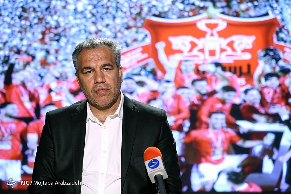عرب: مخالف فسخ قرارداد با برانکو بودیم/ دریافت پول به صورت نقدی برای او سابقه دار بود/ موضوع خاصی نیست مربی بعدی ایرانی باشد یا خارجی