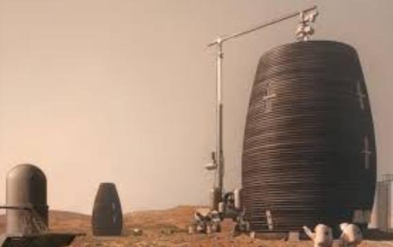 ایدهای خارقالعاده برای زندگی فضانوردان در سیاره مریخ