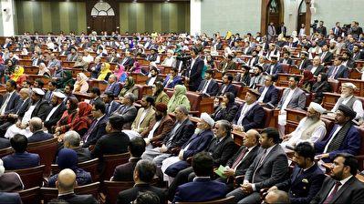 بگومگوی نمایندگان مجلس افغانستان بر سر انتخاب رئیس + فیلم