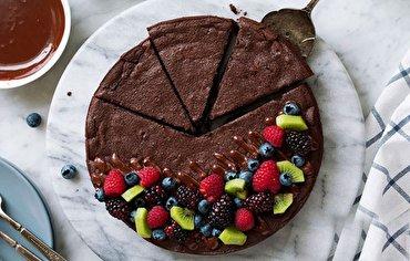باشگاه خبرنگاران - کیک شکلاتی را بدون آرد درست کنید! + دستور تهیه