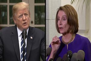 نانسی پلوسی: ترامپ کیسهای پر از کلاهبرداری همراه خود دارد