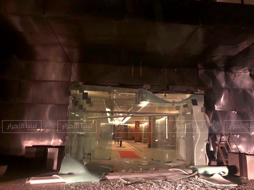 جنگندههای خلیفه حفتر ساختمان پارلمان در طرابلس را بمباران کردند