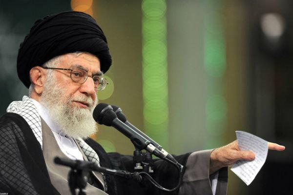زمانی که رهبرانقلاب از جانب میرحسین موسوی پاسخ آمریکایی ها را دادند +فیلم
