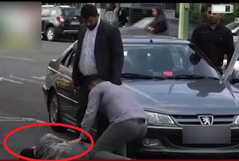واکنش مردم به تصادف نماینده مجلس ایران با پسر دستفروش + فیلم