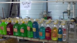 بهره برداری از یک شرکت تولید آب باطری در رشت