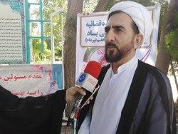 غبار روبی مزار شهدا به مناسبت هفته قوه قضائیه