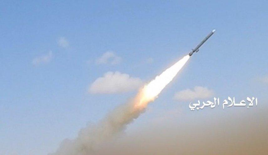 حمله موشکی به مواضع مزدوران سعودی در شمال یمن