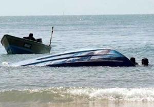 واژگونی قایق در آبهای شهرستان بندر ترکمن