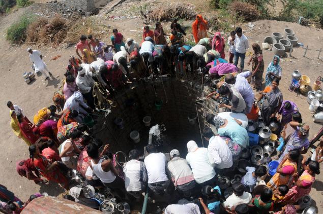 ذخایر آب هند به پایینترین حد در هفتاد سال اخیر رسید