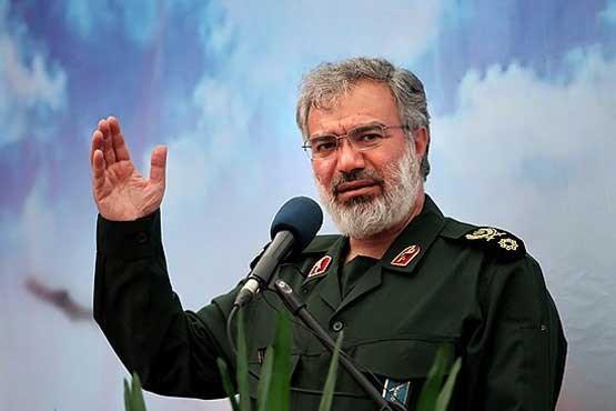 ناوهای آمریکایی به طور کامل تحت کنترل ما هستند/ صحبت کردن ناوهای آمریکایی به فارسی نشانه اقتدار ایران است