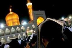 مشهد در سالروز ضربت خوردن حضرت علی (ع) رنگ ماتم به خود گرفت/ طنین نوای الغوث الغوث در حرم رضوی