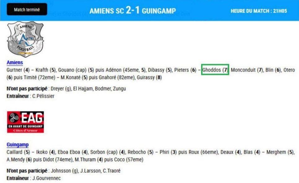 ملی پوش ایرانی دومین بازیکن برتر دیدار آمیان - گنگام