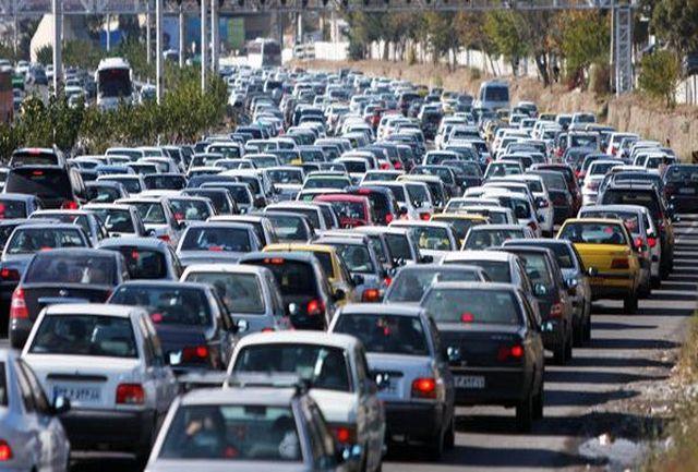 وضعیت ترافیکی معابر بزرگراهی تهران در چهارمین روز خرداد ماه ۱۳۹۸