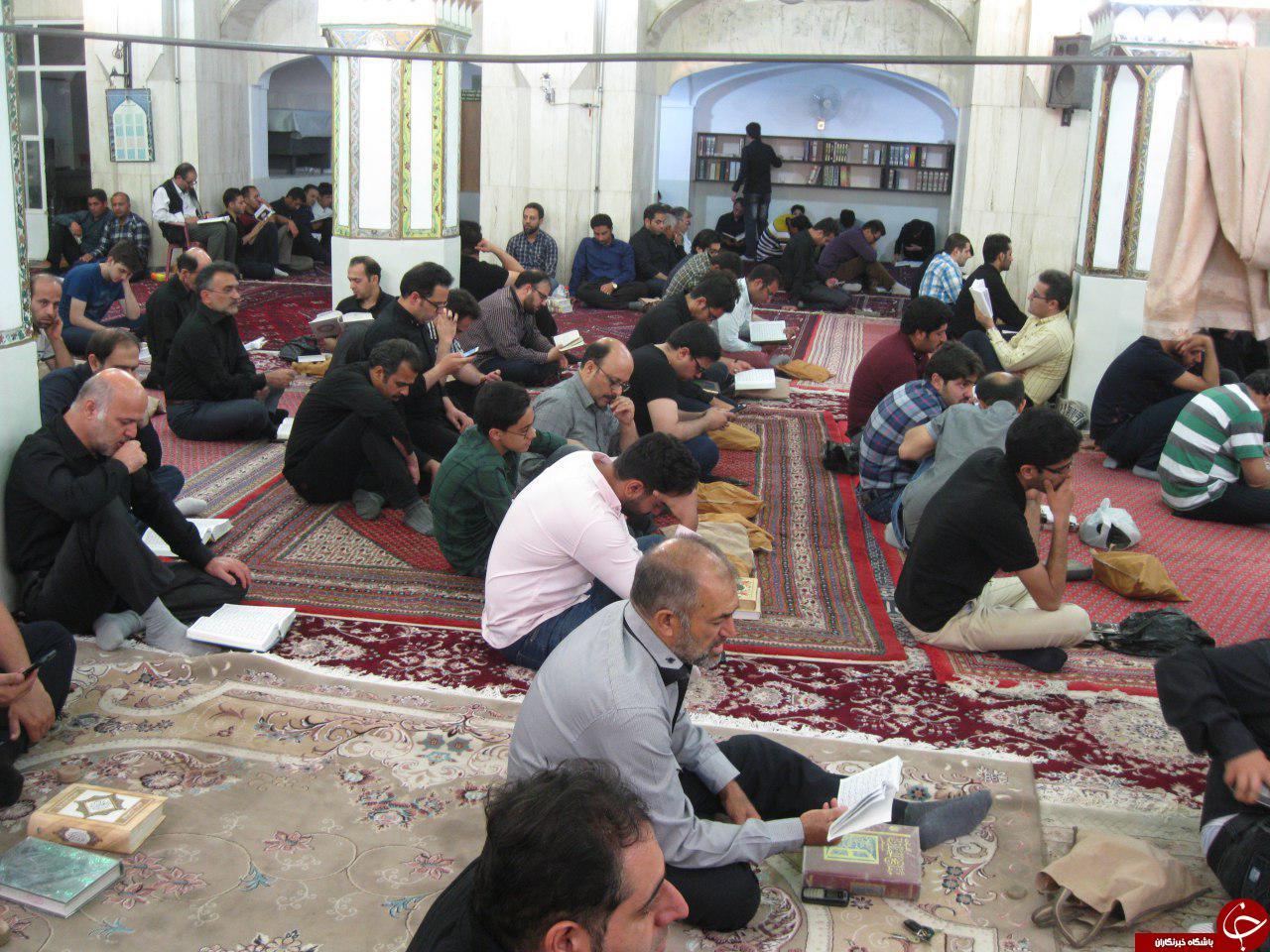 فرازی از سوره افتتاح در شب قدر + فیلم و تصاویر