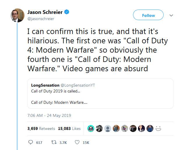 نام نسخه جدید سری Call of Duty مشخص شد