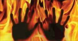 اعترافات مردی که زنش را آتش زد