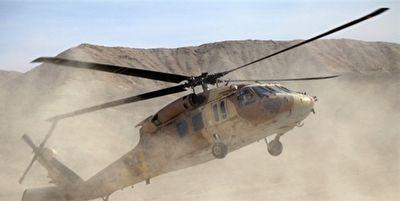سقوط بالگرد  ارتش آمریکا در افغانستان + فیلم
