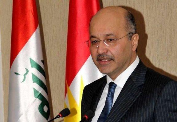 رئیسجمهور عراق در ساعات آینده راهی ترکیه و عربستان میشود