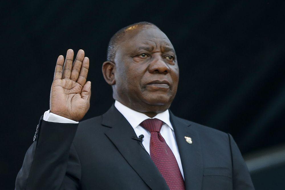 رئیسجمهور جدید آفریقای جنوبی سوگند یاد کرد