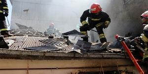۱۷ مورد حریق و حادثه در ۴۸ ساعت گذشته در رشت