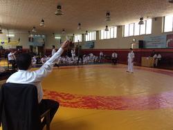 رقابت بیش از ٦٠ کاراته کار در مشهد