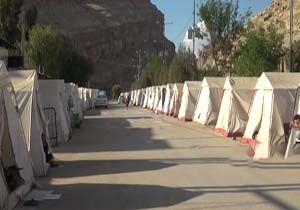 مشکلات سیل زدگان پلدختری در ماه رمضان + فیلم