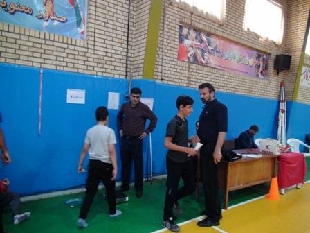 برگزاری جشنواره استعدادیابی بسکتبال در اراک