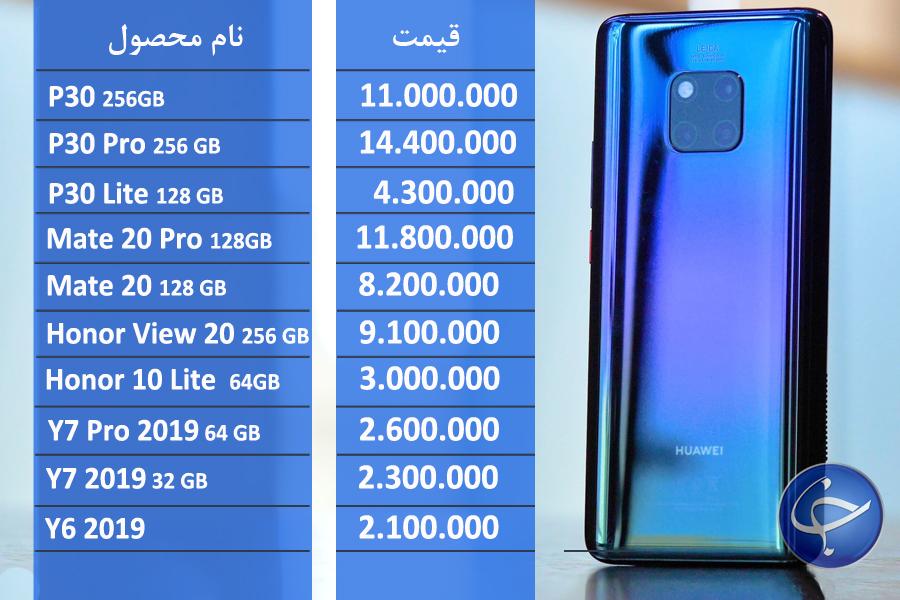 آخرین قیمت تلفن همراه در بازار (بروزرسانی 5 خرداد) +جدول