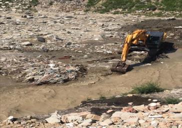 رفعتصرف ۵.۵ کیلومتر از بستر رودخانه کن در تهران
