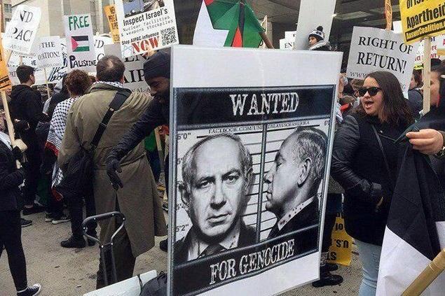 تظاهرات هزاران نفری ساکنان فلسطین اشغالی علیه نتانیاهو