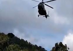 سقوط مرگبار بالگرد نظامی در پرو + فیلم