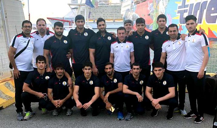 عنوان سومی ایران در کشتی آزاد جام ساساری/ تصمیم عجیب میزبان و گرفتن مدال از یخکشی