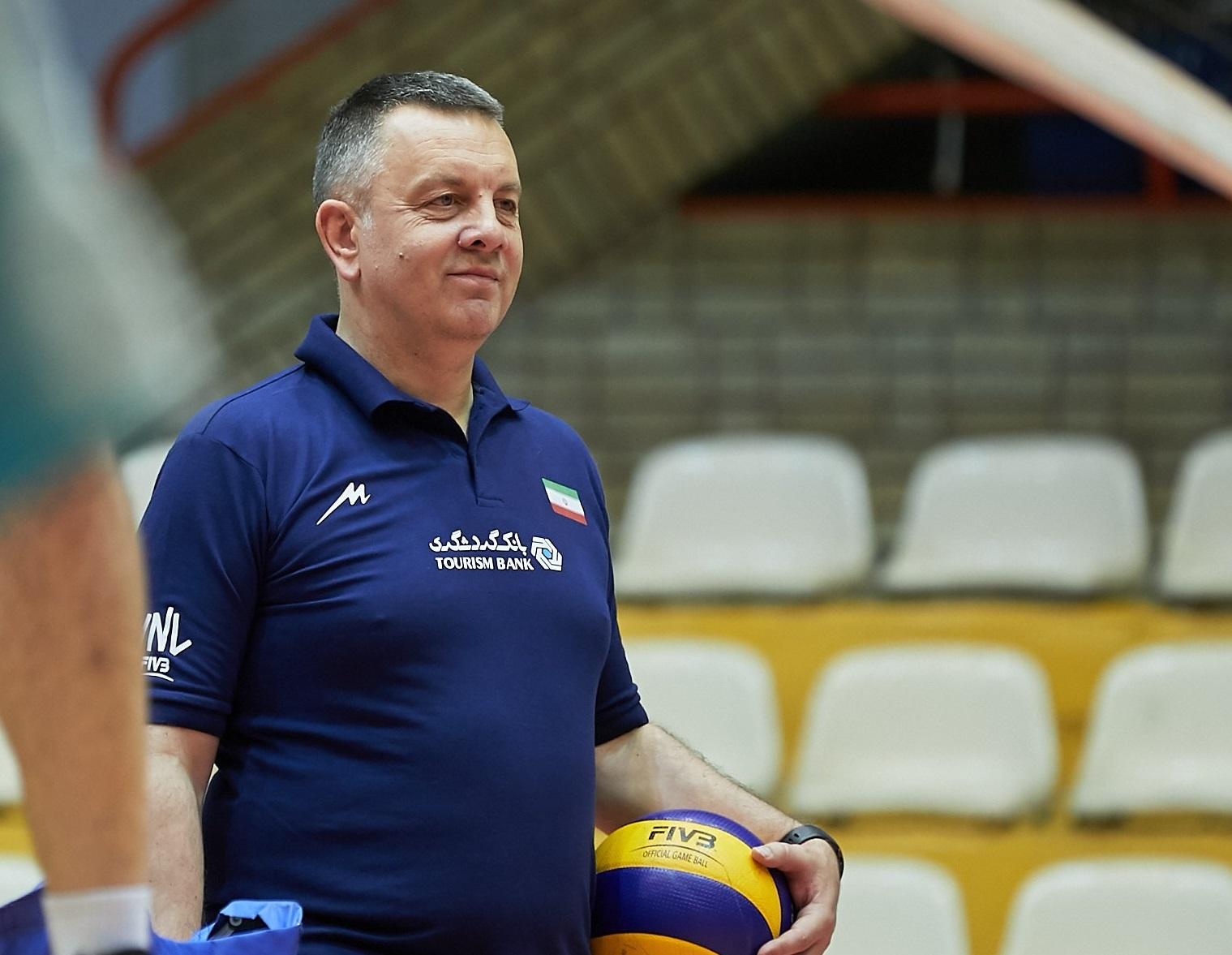 کولاکوویچ: هفته نخست لیگ ملتهای والیبال برای ما مهم است