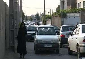 بلاتکلیفی خیابان 20 متری حسین رضا در ورامین + فیلم