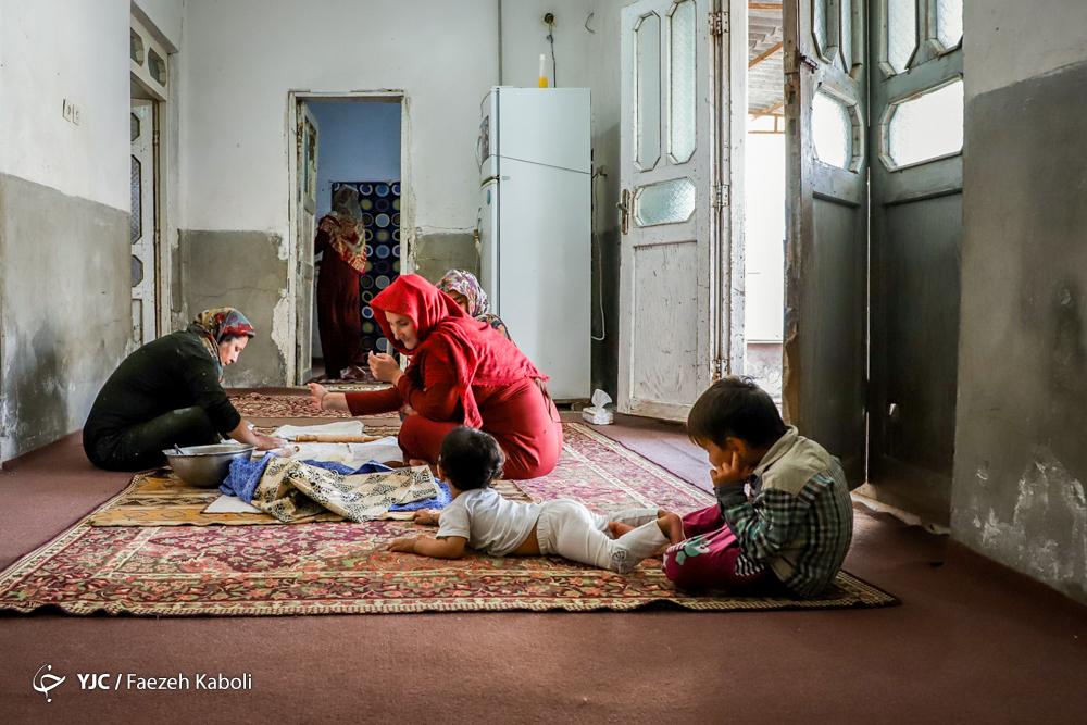 افطاری مهمان خانوادهای ترکمن