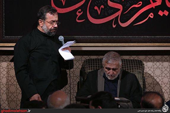 باشگاه خبرنگاران - هم نوایی محمود کریمی و منصور ارضی در مسجد ارگ + تصاویر