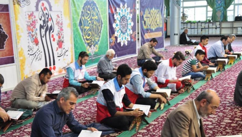 اجرای برنامه های متنوع جوانان مرکزی در ماه مبارک رمضان