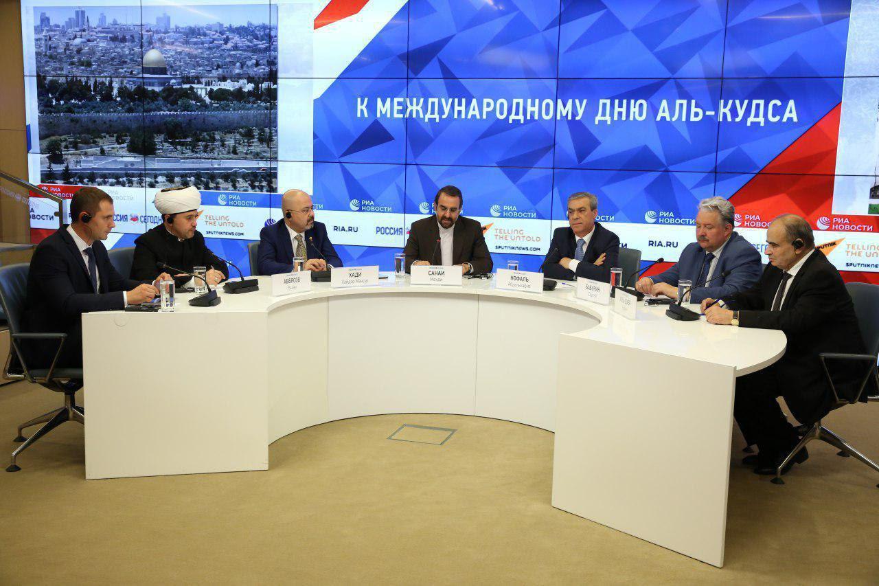 برگزاری میز گرد قدس در خبرگزاری ریانووستی روسیه
