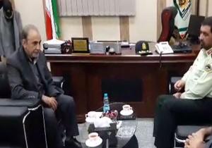 حضور محمد علی نجفی در پلیس آگاهی تهران بزرگ + فیلم