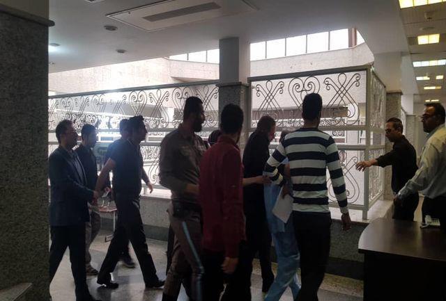 نجفی برای ادای توضیحات به دادسرای جرایم جنایی تهران منتقل شد