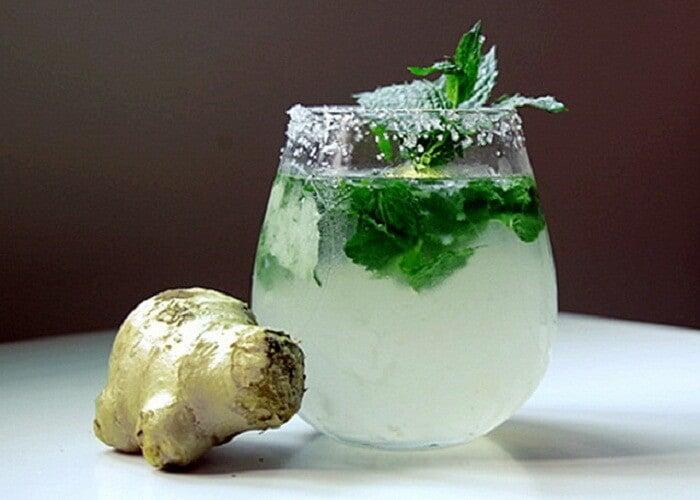5 نوشیدنی لاغری با زنجبیل و لیمو+ دستورالعمل