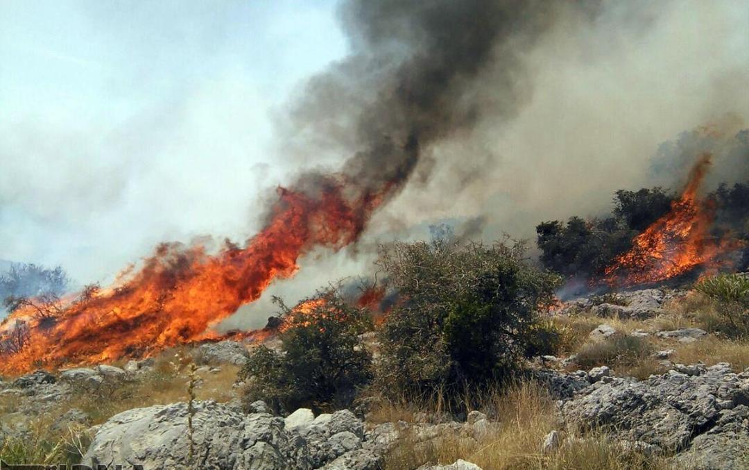 آتش در ارتفاعات دوتولغز مهار شد