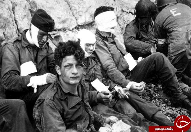 تصاویر رنگی دیده نشده از جنگ جهانی دوم //////////////////
