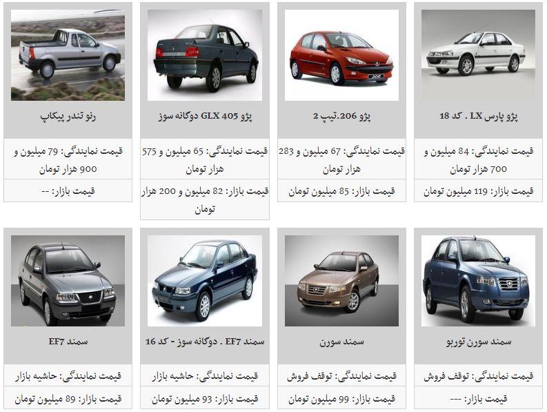 نرخ خودروهای داخلی (۹۸/۴/۱)/ کاهش قیمت همچنان ادامه دارد